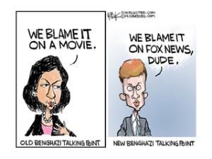 benghazi talking pts cartoon
