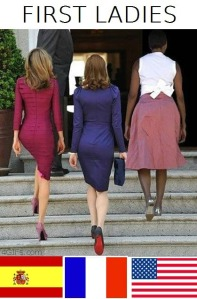 michelleobama, princess, carla bruni